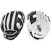 "Wilson 10"" A200 Chicago White Sox T-Ball Glove"