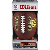 Wilson Junior NFL Tailgate Football Pump and Tee Set