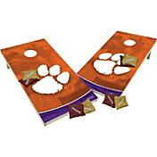 Wild Sports 2' x 4' Clemson Tigers XL Tailgate Bean Bag Toss Shields