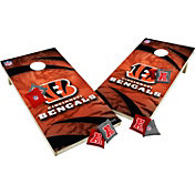 Wild Sports 2' x 4'  Cincinnati Bengals Tailgate Bean Bag Toss Shields