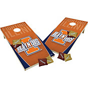 Wild Sports 2' x 4' Illinois Fighting Illini XL Tailgate Bean Bag Toss Shields