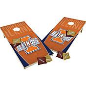 Wild Sports 2' x 4' Illinois Fighting Illini XL Tailgate Bean Bag Toss Shields