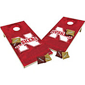 Wild Sports 2' x 4' Nebraska Cornhuskers XL Tailgate Bean Bag Toss Shields