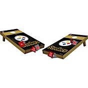 Wild Sports 2' x 4'  Pittsburgh Steelers Tailgate Bean Bag Toss Shields