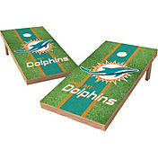 Wild Sports 2' x 4' Miami Dolphins XL Tailgate Bean Bag Toss Shields