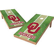 Wild Sports 2' x 4' Oklahoma Sooners XL Tailgate Bean Bag Toss Shields