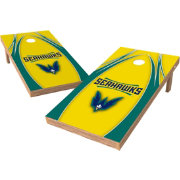 Wild Sports 2' x 4' UNC-Wilmington Seahawks XL Tailgate Bean Bag Toss Shields