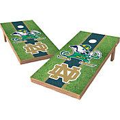 Wild Sports 2' x 4' Notre Dame Fighting Irish XL Tailgate Bean Bag Toss Shields