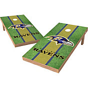 Wild Sports 2' x 4' Baltimore Ravens XL Tailgate Bean Bag Toss Shields