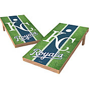 Wild Sports 2' x 4' Kansas City Royals XL Tailgate Bean Bag Toss Shields