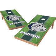 Wild Sports 2' x 4' Samford Bulldogs XL Tailgate Bean Bag Toss Shields