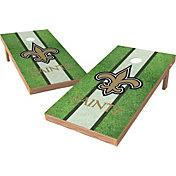 Wild Sports 2' x 4' New Orleans Saints XL Tailgate Bean Bag Toss Shields