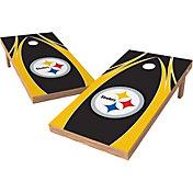 Wild Sports 2' x 4' Pittsburgh Steelers XL Tailgate Bean Bag Toss Shields