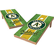 Wild Sports 2' x 4' Oakland Athletics XL Tailgate Bean Bag Toss Shields
