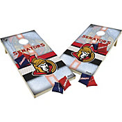 Wild Sports 2' x 4' Ottawa Senators XL Tailgate Bean Bag Toss Shields