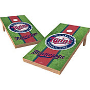 Wild Sports 2' x 4' Minnesota Twins XL Tailgate Bean Bag Toss Shields