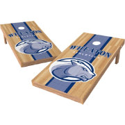Wild Sports 2' x 4' Wheaton College Lyons XL Tailgate Bean Bag Toss Shields