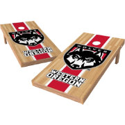 Wild Sports 2' x 4' Western Oregon Wolves XL Tailgate Bean Bag Toss Shields