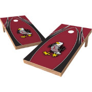 Wild Sports 2' x 4' Wisconsin La Crosse Eagles XL Tailgate Bean Bag Toss Shields