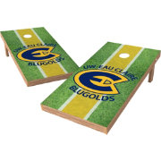 Wild Sports 2' x 4' Wisconsin Eau Claire Bluegolds XL Tailgate Bean Bag Toss Shields