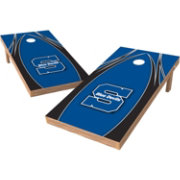 Wild Sports 2' x 4' Wisconsin Stout Blue Devils XL Tailgate Bean Bag Toss Shields