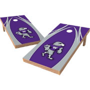 Wild Sports 2' x 4' Wisconsin Whitewater Warhawks XL Tailgate Bean Bag Toss Shields