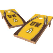 Wild Sports 2' x 4' Wyoming Cowboys XL Tailgate Bean Bag Toss Shields