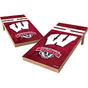 Wild Sports 2' x 4' Wisconsin Badgers XL Tailgate Bean Bag Toss Shields