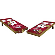 Wild Sports 2' x 4'  Wisconsin Badgers Tailgate Bean Bag Toss Shields