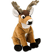 Wild Republic Cuddlekin White Tail Stuffed Animal