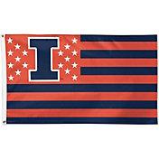 WinCraft Illinois Fighting Illini Deluxe Flag