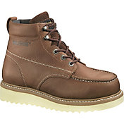 "Wolverine Men's Moc-Toe Wedge 6"" Wide Steel Toe Work Boots"