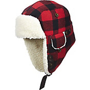 Woolrich Plaid Aviator Trapper Hat
