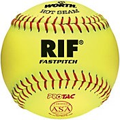 "Rawlings 12"" ASA Hot Seam RIF Safety Fastpitch Softball"
