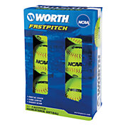 "Rawlings 11"" NCAA Fastpitch Softballs - 6 Pack"