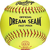 "Rawlings 12"" ASA/NFHS Official Dream Seam Fastpitch Softball"