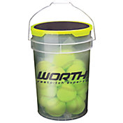 "Worth 12"" Practice Fastpitch Softball Bucket"