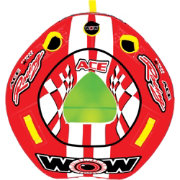 WOW Ace Racing 1 Person Towable Tube