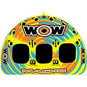WOW Macho 3 Person Towable Tube