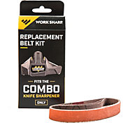 "Work Sharp Combo Knife Sharpener Replacement Belt Kit – P120 ½"" x 10"""