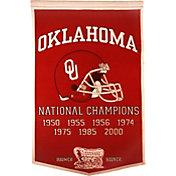Oklahoma Sooners Football National Champions Banner