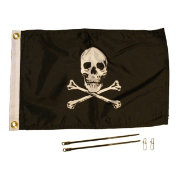 YakAttack Jolly Rodger Flag Kit