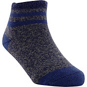 Yaktrax Infant Cozy Cabin Stripe Crew Socks