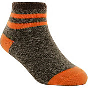 Yaktrax Infant Cozy Cabin Stripe Crew Socks