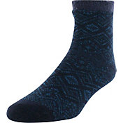 Yaktrax Men's Pine Cozy Cabin Socks