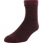 Yaktrax Men's Pine Cozy Cabin Socks