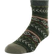 Yaktrax Men's Tribal Nordic Cozy Cabin Socks