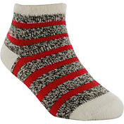 Yaktrax Toddler Cozy Stripe Cabin Socks