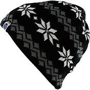 Yaktrax Women's Cozy Large Snowflake Beanie