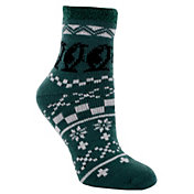 Yaktrax Women's Cozy Cabin Penguin Crew Socks